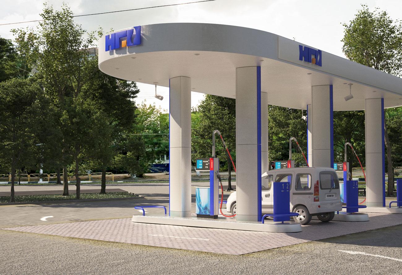 Автомобильные газовые наполнительные компрессорные станции АГНКС