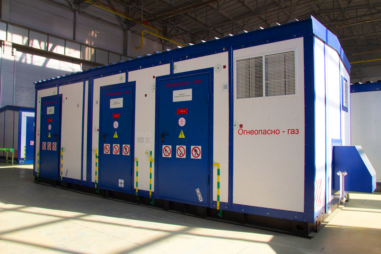 Блочно-комплектная электростанция БКЭС