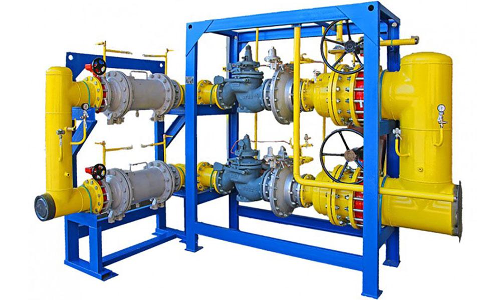Комплексная поставка пунктов учета расхода газа ПУРГ-25, ПУРГ-40 и ГРПШ-13-2НУ-1