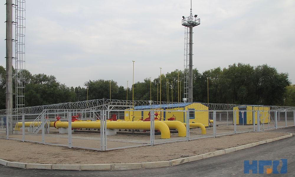 Головной газорегуляторный пункт (ГГРП)