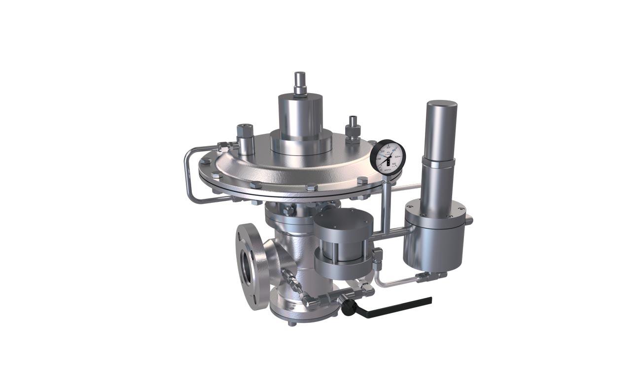 Регуляторы давления газа РД-16