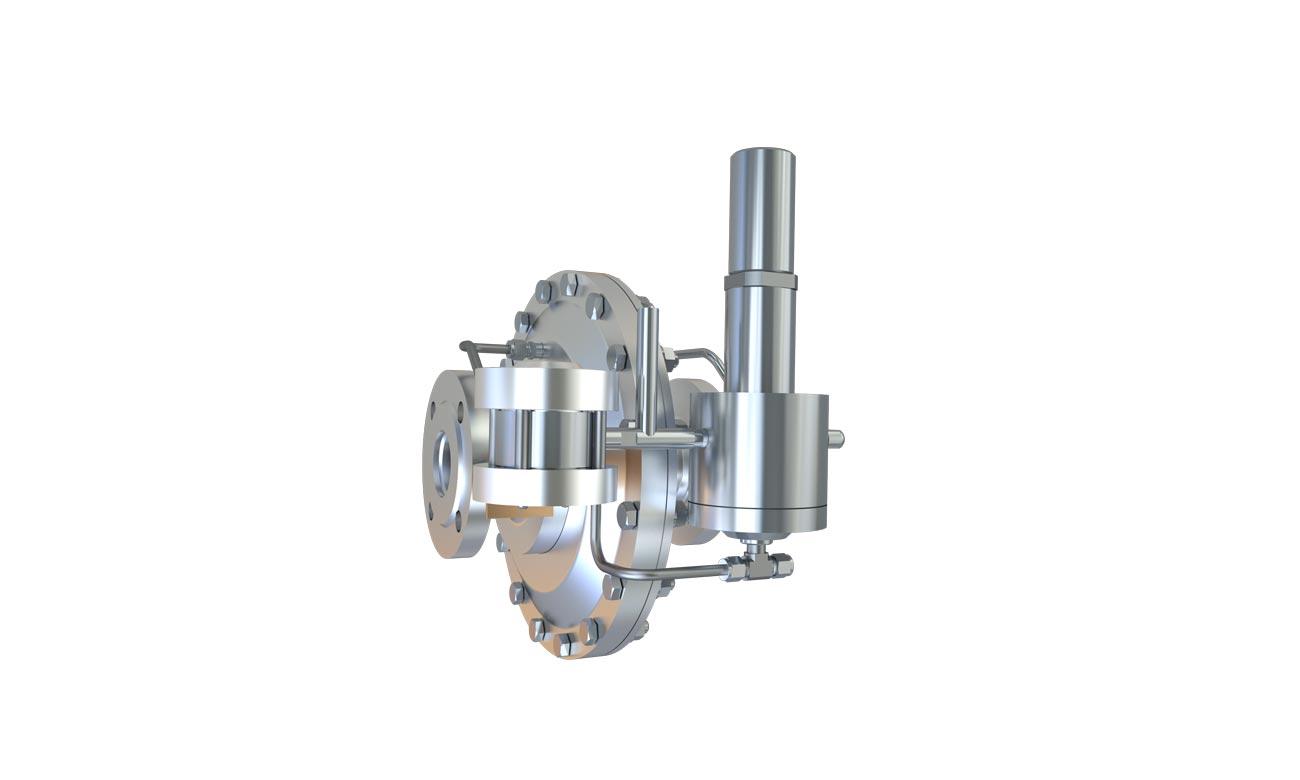 Регуляторы давления газа прямоточной конструкции РДП