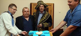 75-летний юбилей почетного сотрудника  ООО «Завод «Нефтегазоборудование»...
