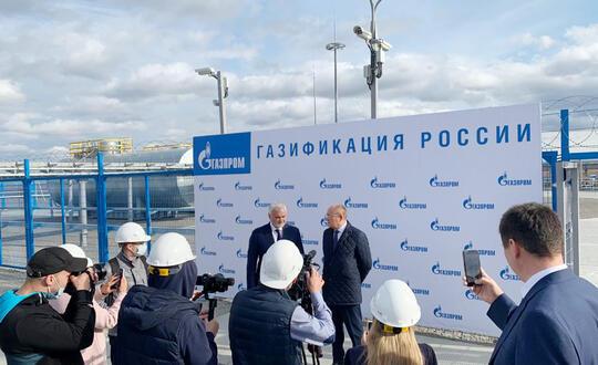 В Воркуте завершается сооружение АГРС «Голубой поток», газопровода-отвода и межпоселкового газопровода...