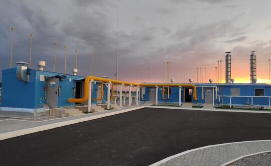 Этим летом состоялся запуск АГРС «Голубое пламя» в городе Кант, расположенной в Чуйской области Республики Киргизия...