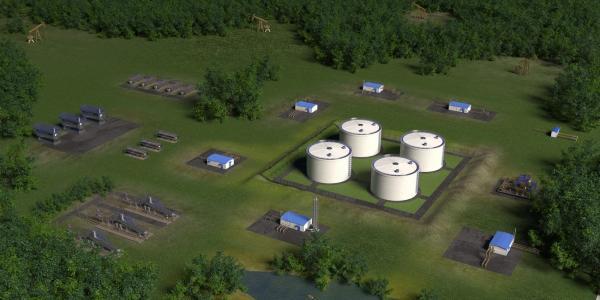 Обустройство нефтяных и газовых месторождений