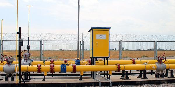 Блок (узел) измерения расхода газа (БИРГ, УИРГ)