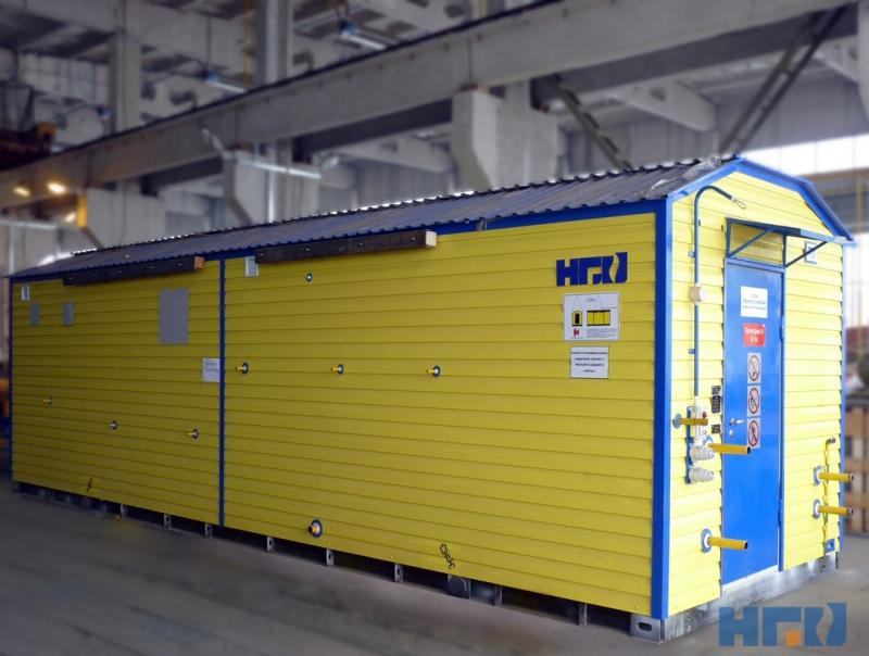 Блок подготовки топливного и импульсного газа БПТИГ «Голубое пламя»