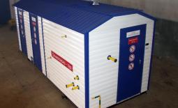 Пункт газорегуляторный блочный ПГБ-50-1-1,2-ОГ-У1-СГ с САУ ТП и телеметрией