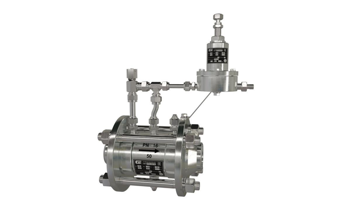 Регуляторы газовые осевые РГО