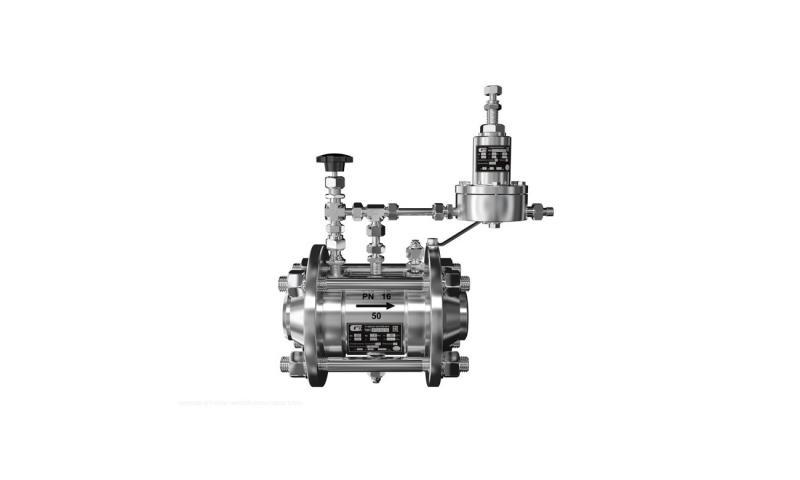 Регулятор газовый осевой РГО 100/16 (У2)