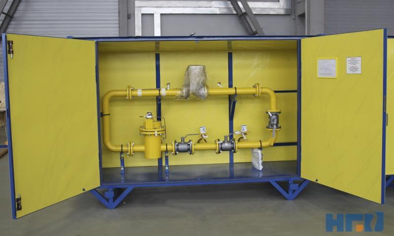 Шкафной узел учёта расхода газа ШУУРГ-250