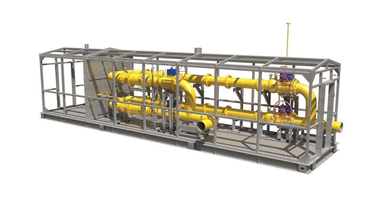 Система измерения количества и параметров свободного нефтяного газа (СИКГ)