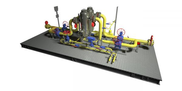 Узлы очистки газа (УОГ)