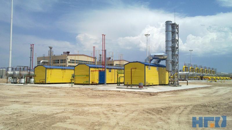 Установка подготовки топливного, пускового и импульсного газа УПТПИГ-50