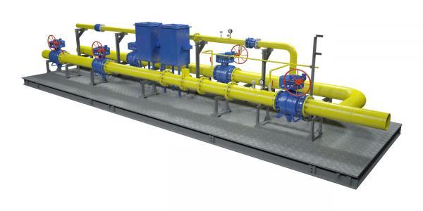 Блок (узел) измерения расхода газа (БИРГ, УИРГ, УУРГ)